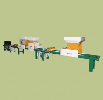 Automatic rice nursery sowing machine