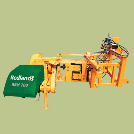 Ridge plastering machine